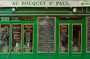 French Signs Photos - Au Bouquet St. Paul by Matthew Bamberg