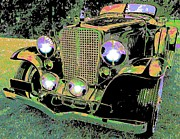 Big 3 Digital Art Prints - Auburn Convertible Print by John Madison