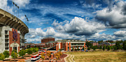Alabama Campus Prints - Auburn Print by Robert Hainer