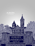 Samford Hall Framed Prints - Auburn University Framed Print by Myke Huynh