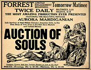 Auction Of Souls Print by Digital Reproductions
