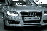 Best Choice Framed Prints - Audi A5 Framed Print by Syed Aqueel