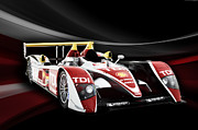 Champion Prints - Audi R10 Print by Peter Chilelli