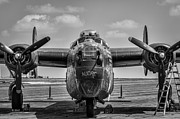 B-24 Framed Prints - Audre Framed Print by Nathan Gingles