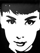 Audrey Hepburn Photos - Audrey by Heather Provan