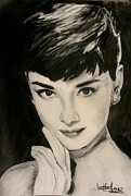 Classic Hollywood Originals - Audrey Hepburn by Leah Katherine
