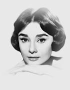 Stefan Kuhn - Audrey Hepburn Pencil