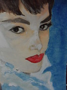Ww1 Paintings - Audrey by Linda Wan