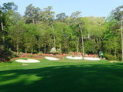 Amen Corner Photos Posters - Augusta National - Amen Corner Poster by Bo  Watson