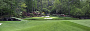 Augusta Golf Photos Art - Augusta National 12 Golden Bell Masters Panorama Photo 2 by Phil Reich