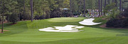 Golf Photos Framed Prints - Augusta National Hole 10 Camellia Masters Panorama Photo 3 Framed Print by Phil Reich