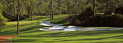 Augusta Golf Photos Art - Augusta National Hole 10 Camellia Masters Panorama Photo 4 by Phil Reich