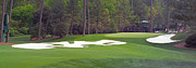 Augusta Golf Photos Art - Augusta National Hole 10 Camellia Masters Panorama Photo 5 by Phil Reich