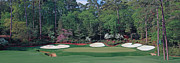 Augusta Golf Photos Art - Augusta National Hole 13 Azalea Masters Panorama Photo 2 by Phil Reich