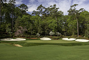 Golf Photos Prints - Augusta National Hole 13 Azalea Masters Photo 1 Print by Phil Reich