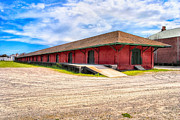 Depot Digital Art Prints - Augustas Old Southern Railway Freight Depot Print by Mark E Tisdale