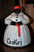 Kitchen Photos Prints - Aunt Jemima Cookie Jar Print by Paul Mashburn