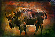 Beautiful Digital Art Originals - Aurochs  by Andrzej  Szczerski