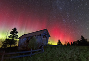 Star Gazing Photos - Aurora Borealis - Painted Sky by John Vose