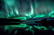 Northernlights Photos - Aurora mighty by Benny Hoeynes