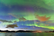 Winter Night Prints - Auroras at Sortland strait II Print by Frank Olsen