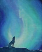 Aurorasong 1 Print by Bernadette Wulf
