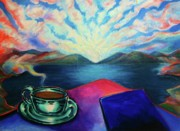 Frederick Luff Prints - Aurorean Coffee Print by Luff  Gallery