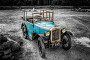 Motor Digital Art Prints - Austin 7 Print by Adrian Evans
