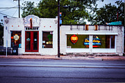 Texas Architecture Prints - Austin Art Gallery Print by Sonja Quintero