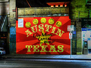 Rock And Roll Posters - Austin HDR 006 Poster by Lance Vaughn