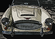 Sheats Framed Prints - Austin Healey 3000 MK Ill Framed Print by Samuel Sheats