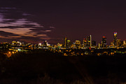 Austin At Night Prints - Austin Pre-Dawn Print by Fred Adsit