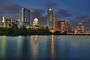 Austin Photo Posters - Austin Skyline 1 Poster by Richard Mason