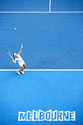 Australian Open Print by Ben Johnson