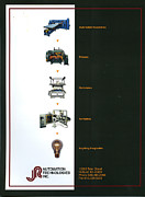 Brochure Framed Prints - Automation Technologies Inc. 2 Framed Print by Frederic A Reinecke