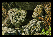 Blake Richards Framed Prints - Autum Stones Framed Print by Blake Richards