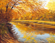 David Bottini - Autumn Afternoon Along...
