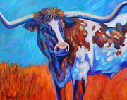 Theresa Paden - Autumn Afternoon Longhorn
