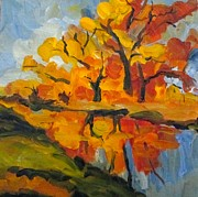 Pat Crowther - Autumn Along the Canal