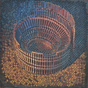 Mark Howard Jones Metal Prints - Autumn Amphitheatre Metal Print by Mark Howard Jones