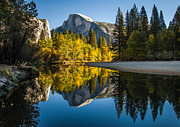 About Light  Images - Autumn at Half Dome
