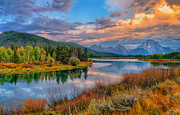 Greg Norrell - Autumn at Oxbow Bend...
