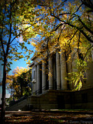 Prescott Photos - Autumn at the Courthouse by Aaron Burrows