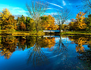 Nick Zelinsky - Autumn at the Woodbury Lake
