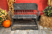 Lisa Hurylovich - Autumn Bench