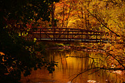 Salani Art - Autumn Bridge by Raymond Salani III