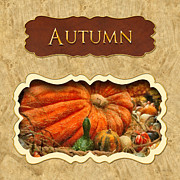 Autumn Posters - Autumn button Poster by Mike Savad