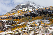Colorado Mountain Prints Prints - Autumn Clearning Print by Darren  White