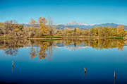 James BO  Insogna - Autumn Colorado Twin Peaks Golden Ponds Reflections