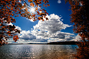 Clouds Prints - Autumn  Confidential  Print by Bob Orsillo